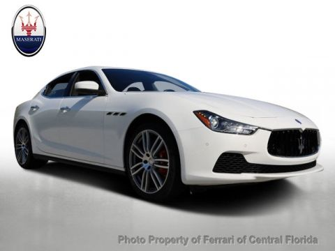 New 2017 Maserati Ghibli S 3.0L Rear Wheel Drive Sedan