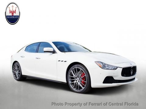 New 2016 Maserati Ghibli 4dr Sedan S Rear Wheel Drive Sedan
