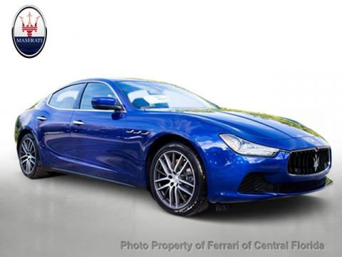 New 2016 Maserati Ghibli 4dr Sedan S Q4 All Wheel Drive Sedan