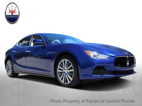 Pre-Owned 2015 Maserati Ghibli 4dr Sedan S Q4 All Wheel Drive Sedan