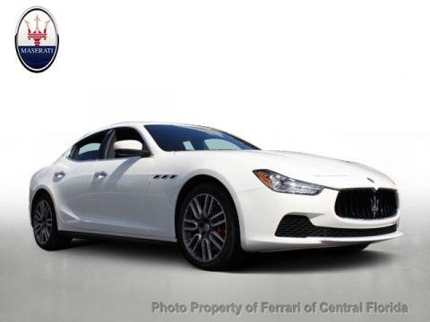 New 2017 Maserati Ghibli S Q4 3.0L All Wheel Drive Sedan