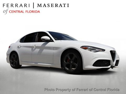 New 2018 Alfa Romeo Giulia RWD Rear Wheel Drive Sedan