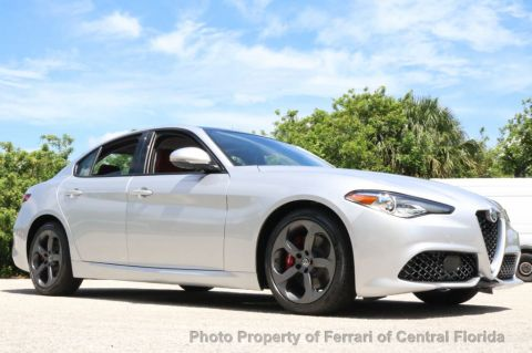 New 2017 Alfa Romeo Giulia RWD Rear Wheel Drive Sedan
