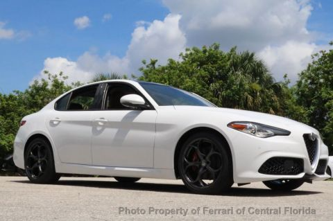 New 2017 Alfa Romeo Giulia Ti RWD Rear Wheel Drive Sedan