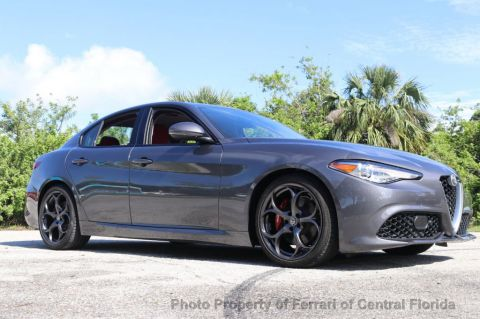 Pre-Owned 2017 Alfa Romeo Giulia Ti RWD Rear Wheel Drive Sedan