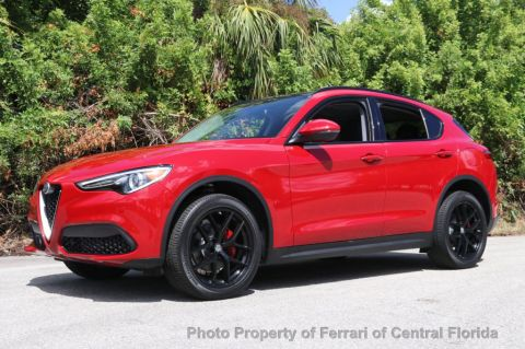 New 2018 Alfa Romeo Stelvio Sport AWD All Wheel Drive SUV