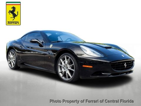 Pre-Owned 2014 Ferrari California 2dr Convertible Rear Wheel Drive Convertible