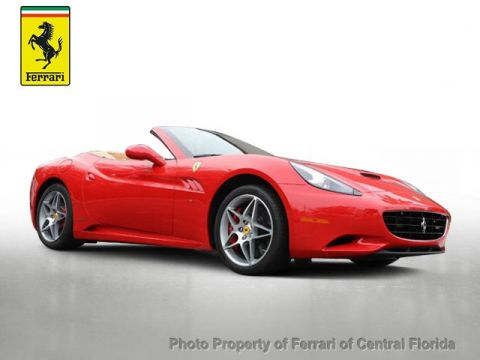 Pre-Owned 2013 Ferrari California 2dr Convertible Rear Wheel Drive Convertible