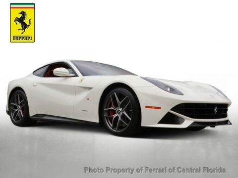 Pre-Owned 2016 Ferrari F12berlinetta 2dr Coupe Rear Wheel Drive Coupe