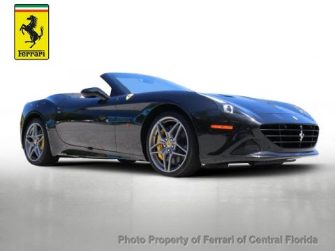 Pre-Owned 2015 Ferrari California 2dr Convertible Rear Wheel Drive Convertible