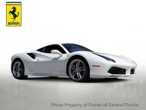Certified Pre-Owned 2016 Ferrari 488 GTB 2dr Coupe Rear Wheel Drive Coupe