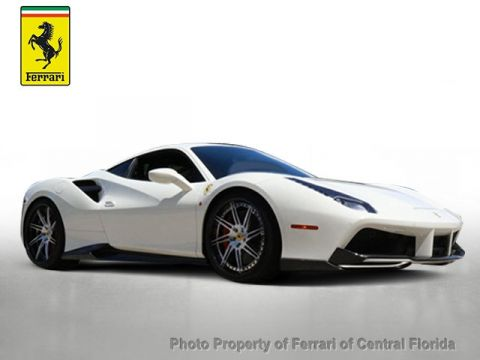 Pre-Owned 2017 Ferrari 488 GTB Coupe Rear Wheel Drive Coupe