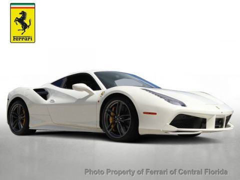Pre-Owned 2016 Ferrari 488 GTB 2dr Coupe Rear Wheel Drive Coupe