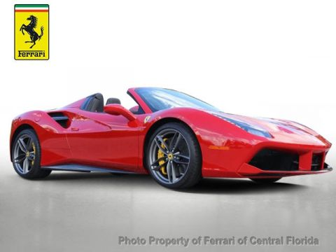 Pre-Owned 2017 Ferrari 488 Spider Convertible
