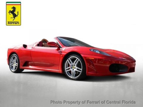 Pre-Owned 2007 Ferrari 430 2dr Convertible Spider Rear Wheel Drive Convertible