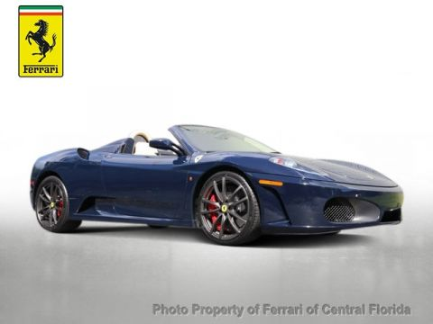 Pre-Owned 2008 Ferrari 430  Rear Wheel Drive Convertible