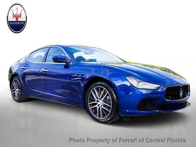 New 2016 Maserati Ghibli 4dr Sedan S Q4