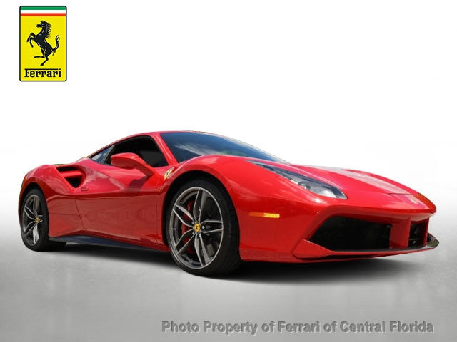 Certified Pre-Owned 2016 Ferrari 488 GTB 2dr Coupe