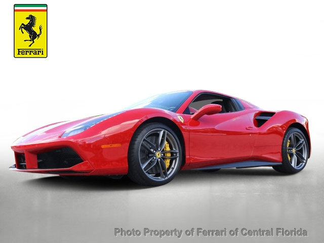pre owned 2017 ferrari 488 spider convertible convertible in orlando