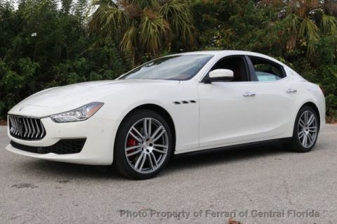 New 2019 Maserati Ghibli Base RWD 4D Sedan